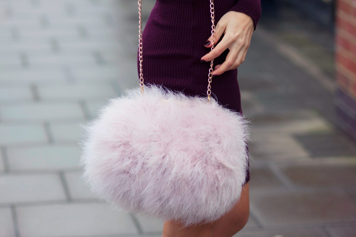 Burgundy and Fur