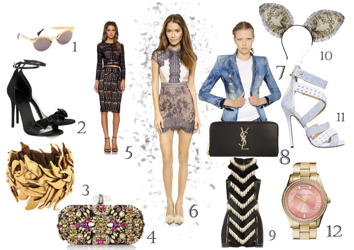 Sunday cravings – Twelve Items to keep fashionable